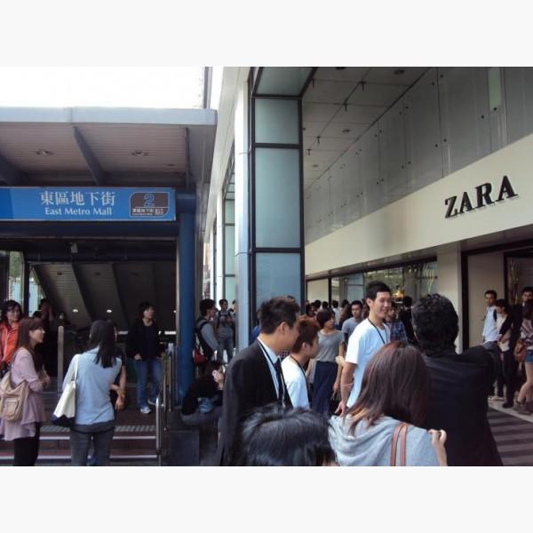 忠孝敦化捷運2號出口