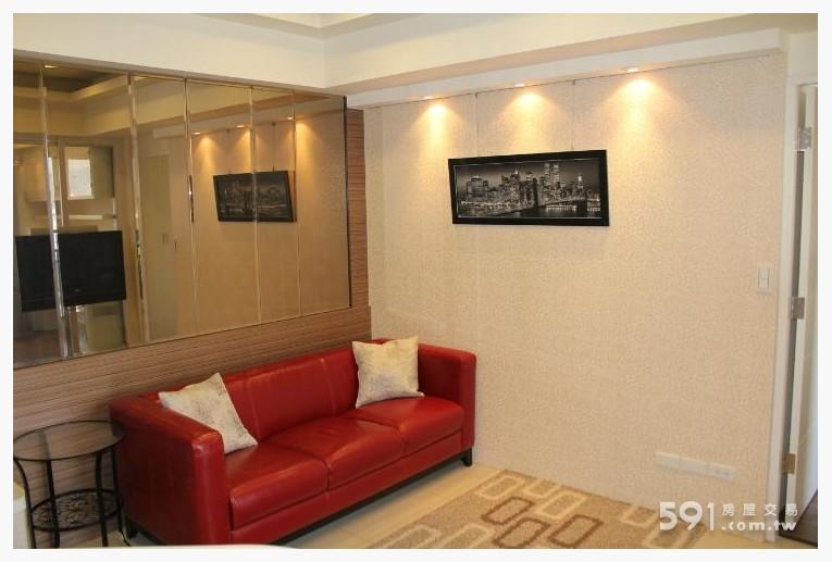 台北租屋,內湖租屋,整層住家出租,現代時尚客廳
