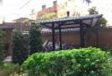 面對中庭花園