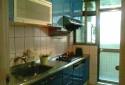 廚房全新流理台附瓦斯爐及烘碗機