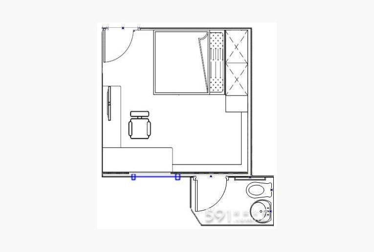 台北租屋,中正租屋,獨立套房出租,裝潢圖