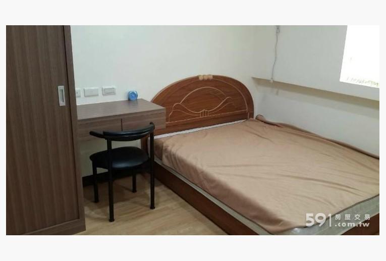 台北租屋,大同租屋,獨立套房出租,簡潔設計舒的適雙人床