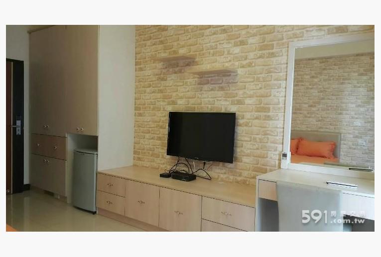 新竹租屋,東區租屋,獨立套房出租,美式鄉村風 系統家俱 電視冰箱