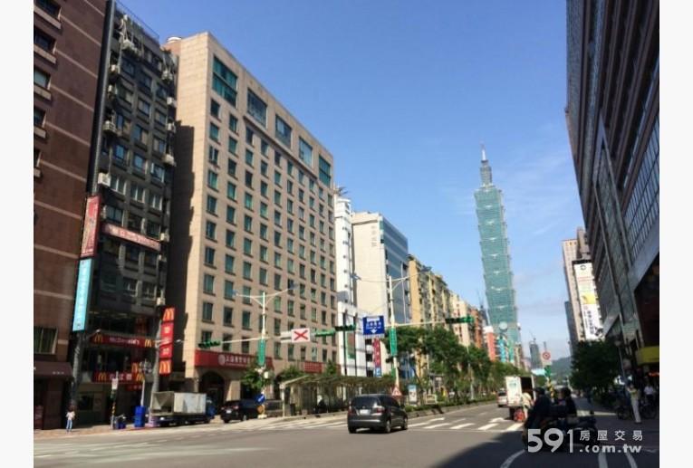 台北租屋,信義租屋,辦公出租,大樓外觀,步行3分鐘到世貿101