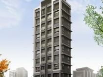 全新大樓挑高3米4米2三面採光