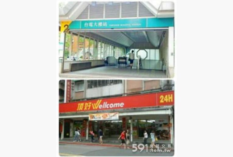 台北租屋,大安租屋,獨立套房出租,鄰近捷運台電大樓站、頂好超市