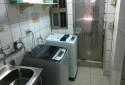大空間洗衣房,有2台洗衣機可使用