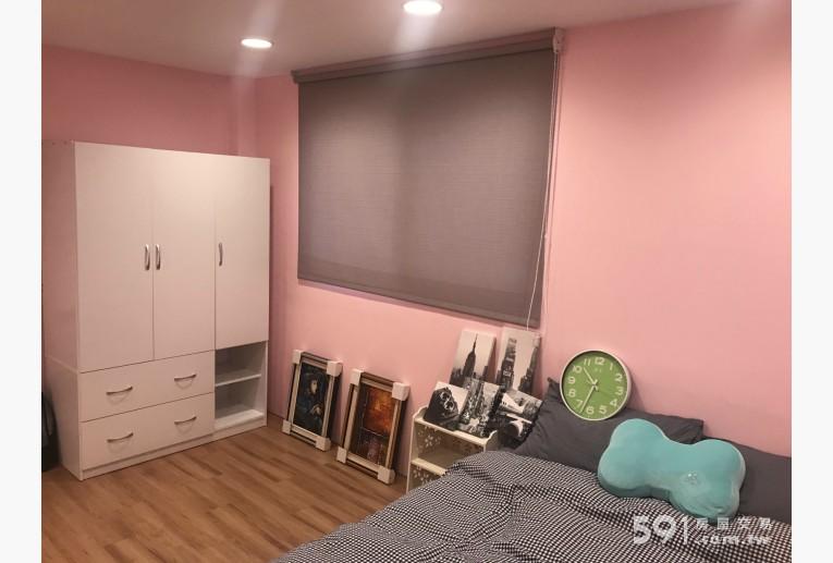 台北租屋,萬華租屋,獨立套房出租,大尺寸的窗戶及衣櫃