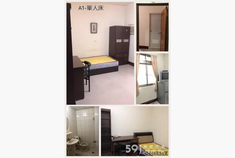 高雄租屋,三民租屋,分租套房出租,A1-單人床