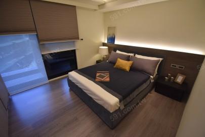 次臥的空間也是相當舒適寬敞