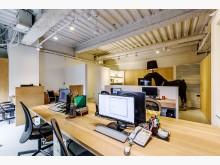 新裝潢共享空間辦公室!