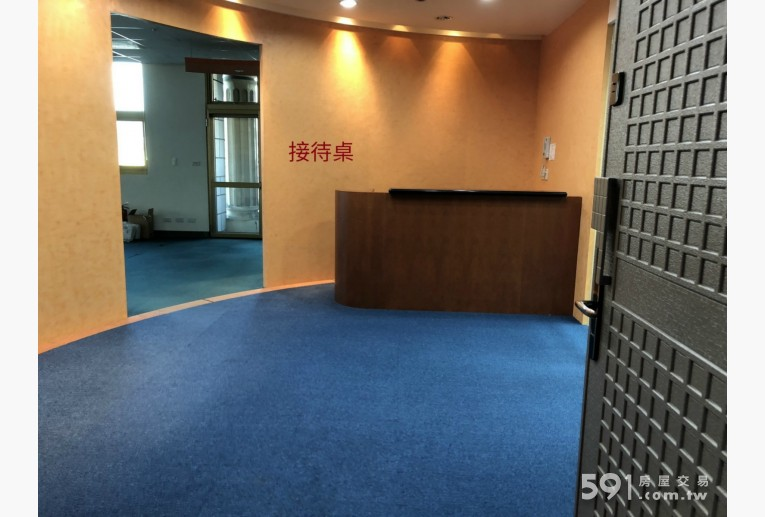 台北租屋,士林租屋,辦公出租,大門口進去的第一眼景色