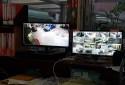 管理室監控所有大樓監視畫面