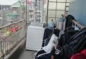 頂樓晾衣曬衣空間