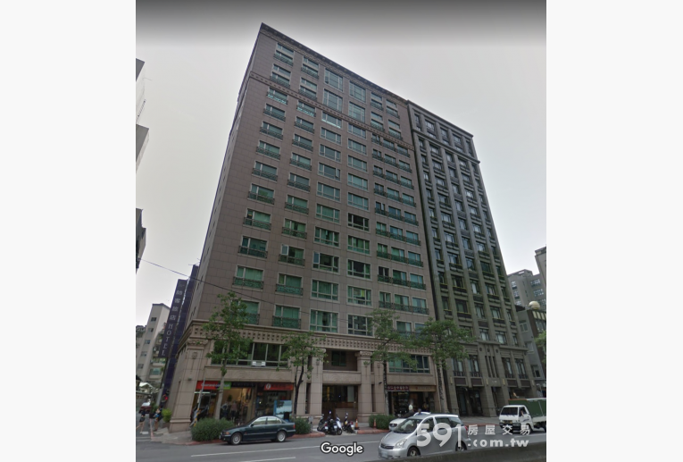 台北租屋,中正租屋,辦公出租,中正國璽外觀(左)