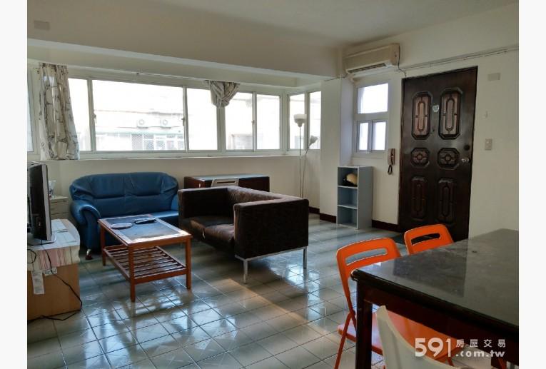 台北租屋,大安租屋,整層住家出租,五米大面窗採光好客餐廳
