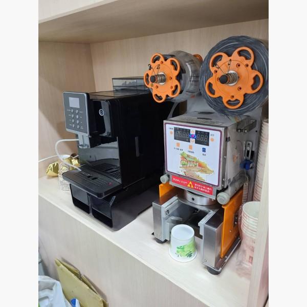 全新全自動咖啡機  封口機