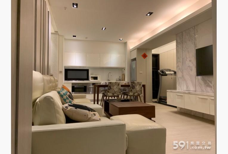 台北租屋,中正租屋,整層住家出租,客廳全景
