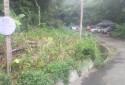 臨接市有自來水用地柵欄門內